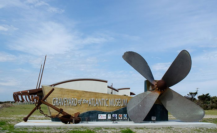 Things to Do in North Carolina Graveyard of the Atlantic Museum OBX