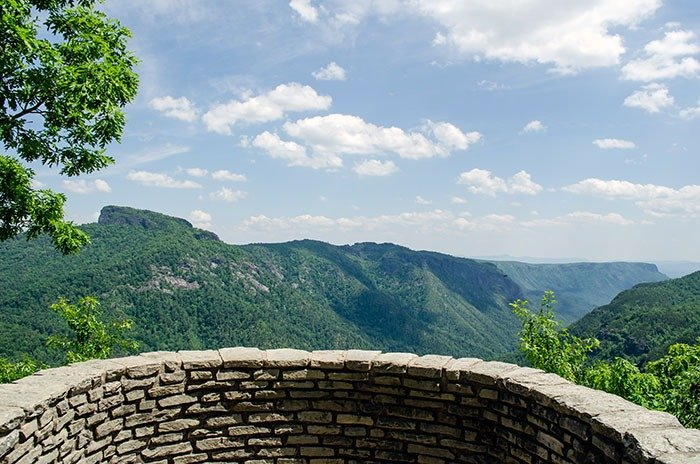Things to Do in North Carolina Linville Gorge Wilderness Wisemans View