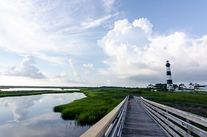Things to Do in North Carolina OBX Trail at Bodie Island Lighthouse