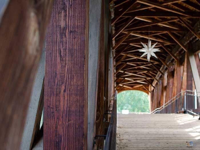 Things to Do in North Carolina Old Salem Heritage Bridge Winston Salem