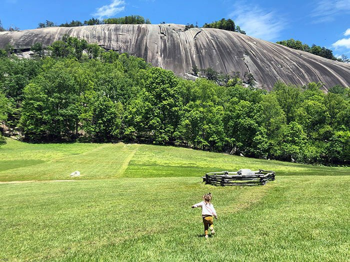 Things to Do in North Carolina Stone Mountain State Park NC Granite Dome 1