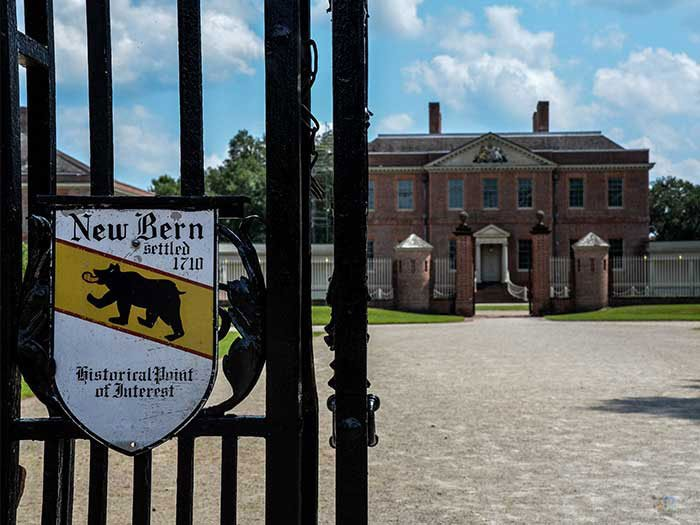 Things to Do in North Carolina Tryon Palace New Bern NC Outside