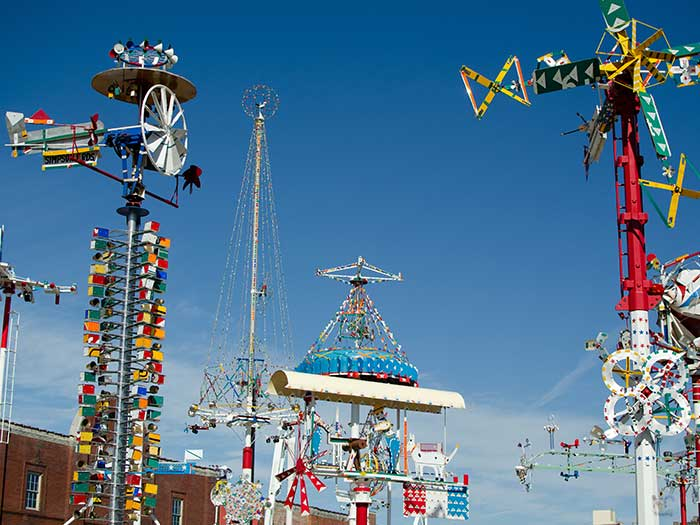 Things to Do in North Carolina Whirligig Park in Wilson NC