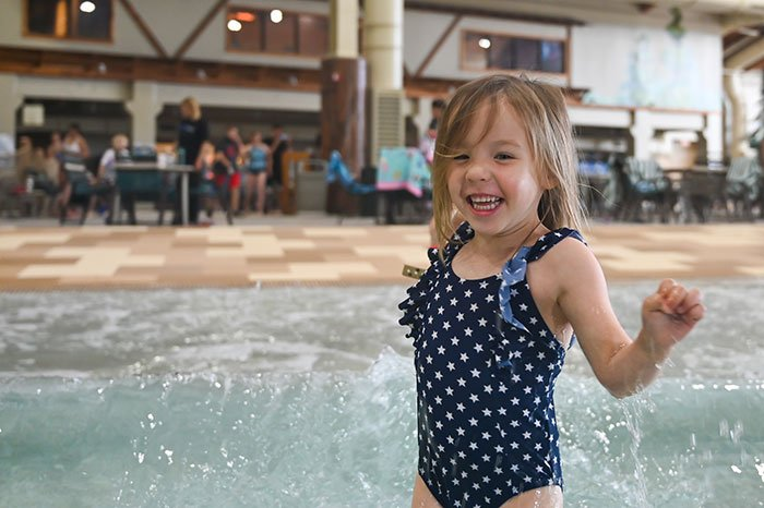 Wave pool at Great Wolf Lodge Concord NC