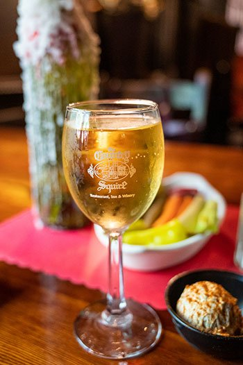 Wine at The Country Squire Duplin