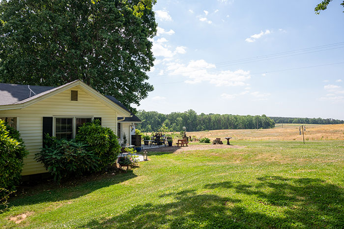 countryside of Elkin NC