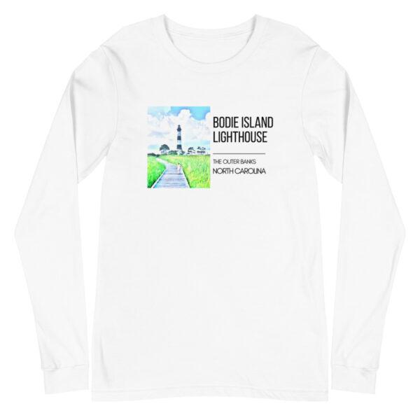 unisex long sleeve tee white front 6099d12d2872f