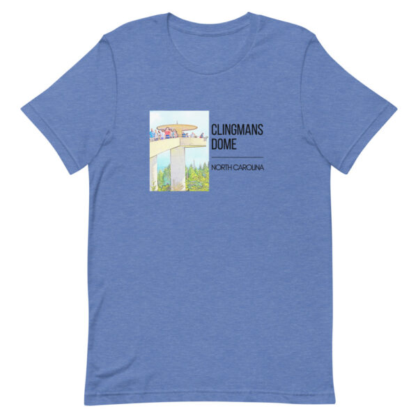 unisex premium t shirt heather true royal front 609994be519b6