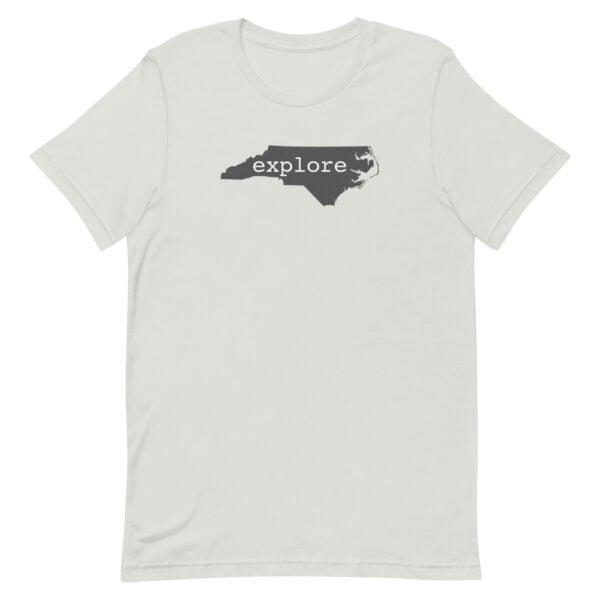 unisex premium t shirt silver front 60955b6be86ef