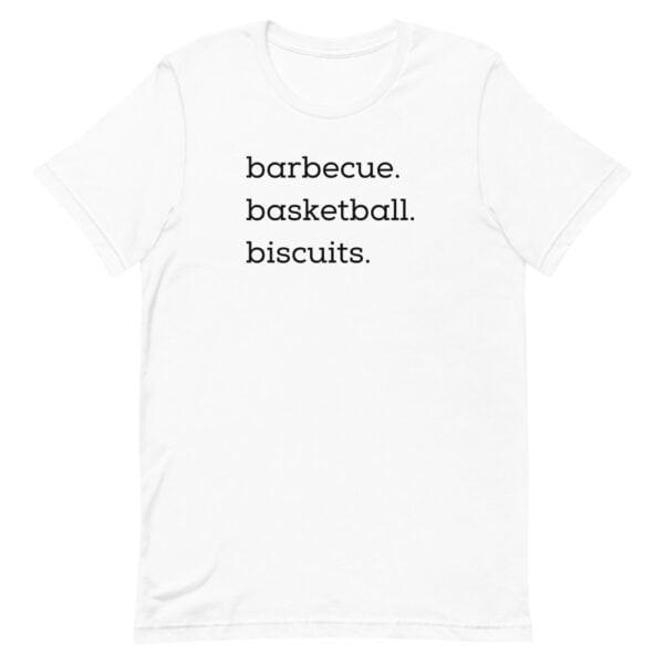 unisex premium t shirt white front 60955afbbf341