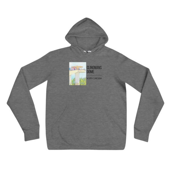 unisex pullover hoodie deep heather front 609992d307696