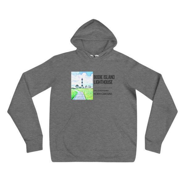 unisex pullover hoodie deep heather front 6099d28fdee5a