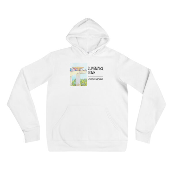 unisex pullover hoodie white front 609992d3074d3