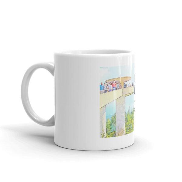 white glossy mug 11oz handle on left 60998f6cf0df6