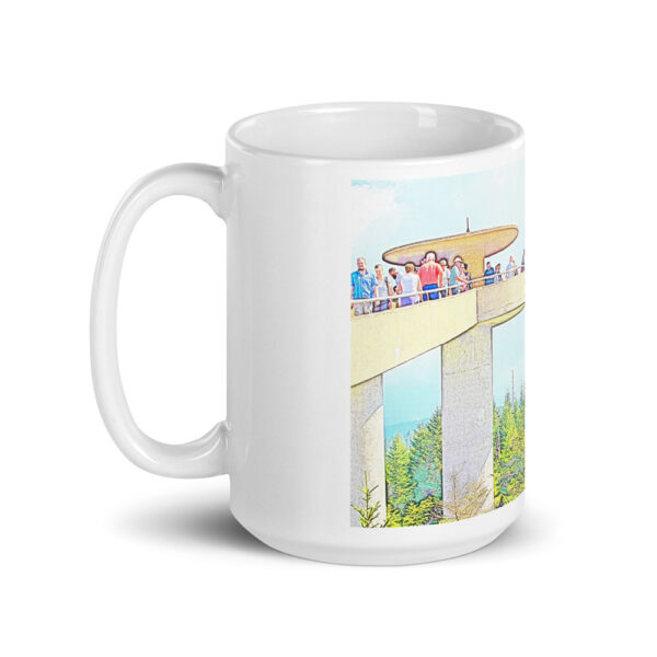 white glossy mug 15oz handle on left 60998f6cf0f1e