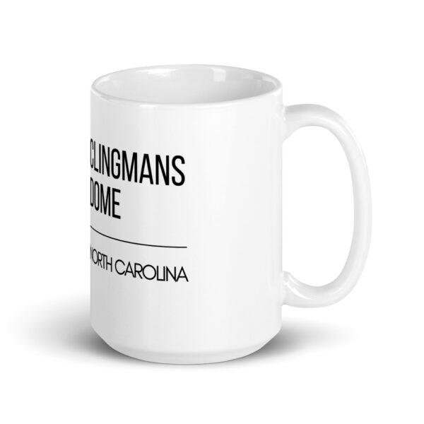 white glossy mug 15oz handle on right 60998f6cf0ec3