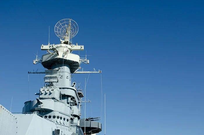 Battleship NC Wilmington near Duplin County