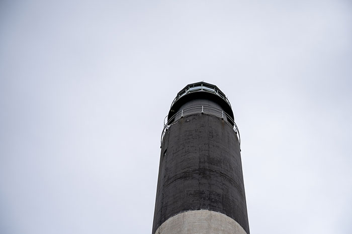 Beacon at Oak Island Lighthouse