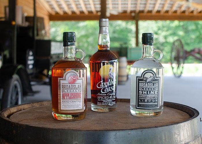 Day Trips from Durham NC Benson Broadslab Distillery