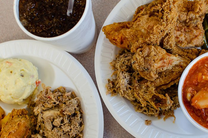 Day Trips from Durham NC Smithfield White Swan Bar B Q and Fried Chicken