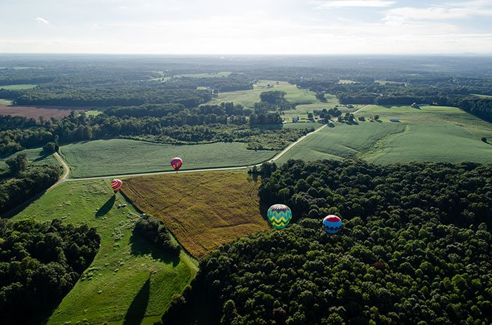 Day Trips from Durham NC Statesville Big Oh Balloons