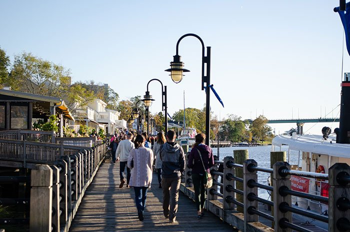 Day Trips from Raleigh NC Wilmington Riverwalk