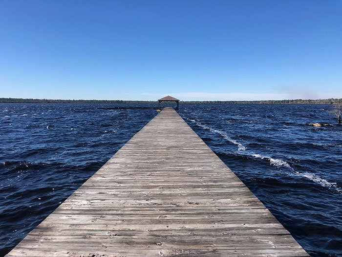 Day Trips from Raleigh Singletary Lake State Park