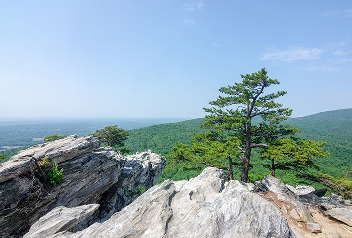 Hanging Rock Trail NC
