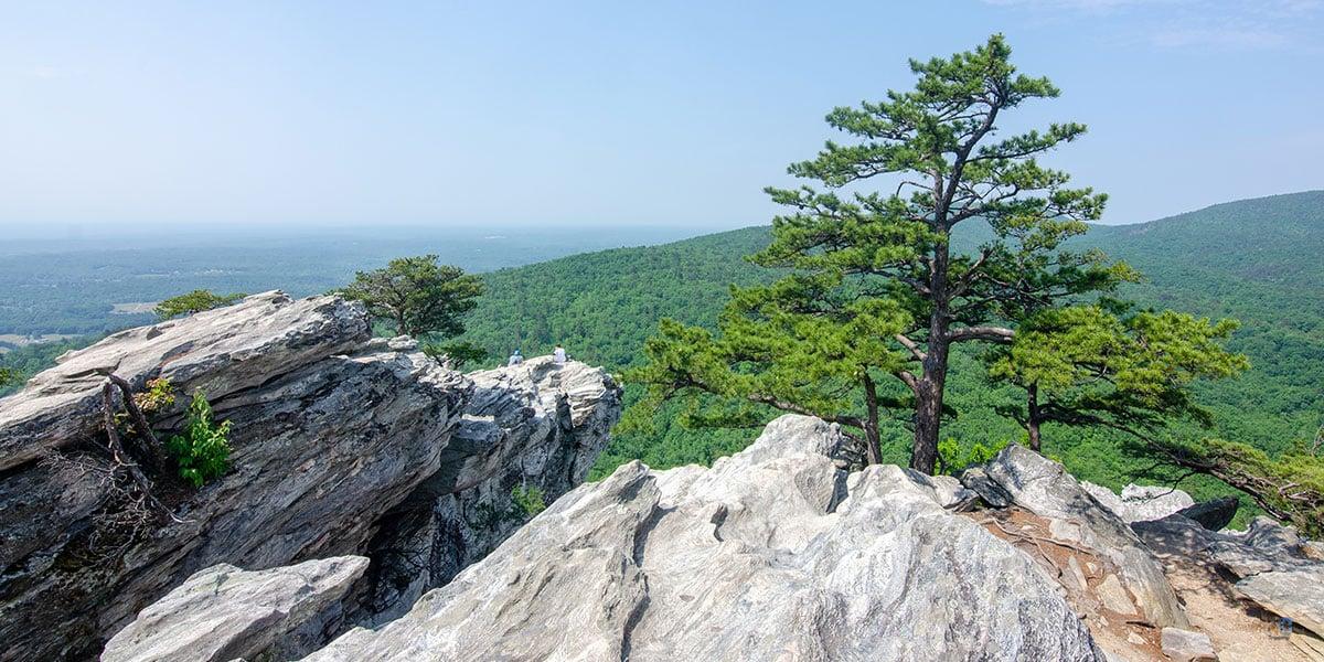 Hanging Rock Trail North Carolina