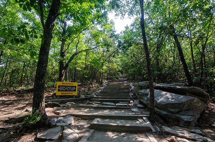 Hanging Rock Trail Stairs