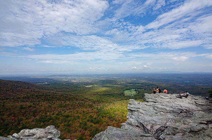 Hanging Rock Trail Views from the Top