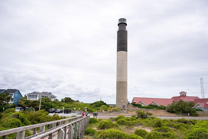 Oak Island Lighthouse how to see