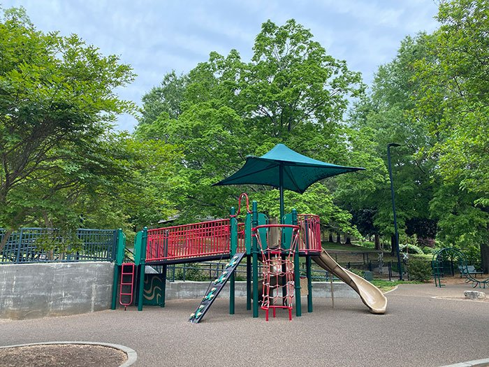 Playgrounds at Pullen Park