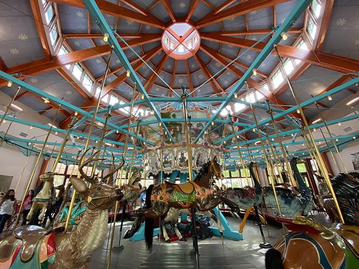 Pullen Park carasol