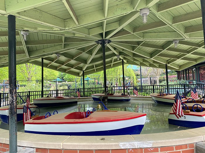boats at Pullen Park