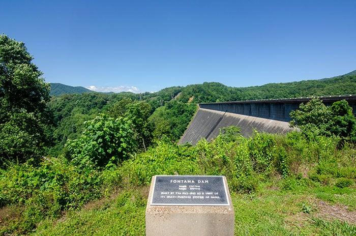 Fontana Dam in Western North Carolina