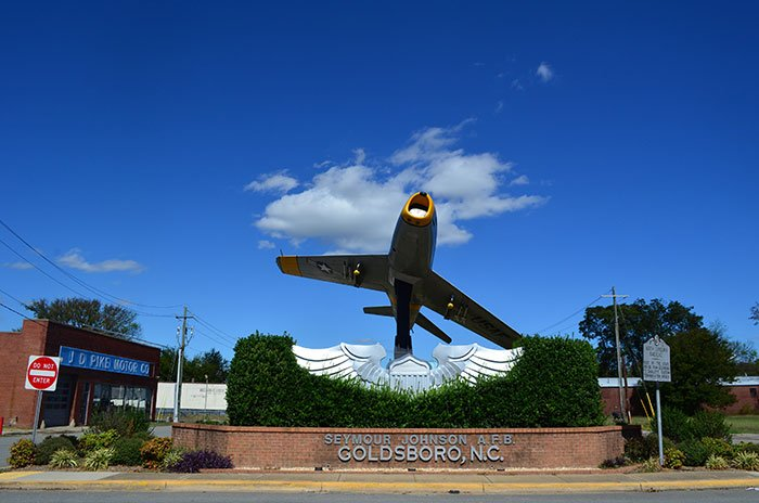Goldsboro NC Plane