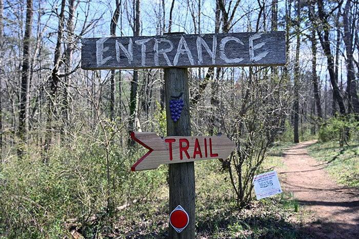 Grassy Creek Vineyard Trailhead