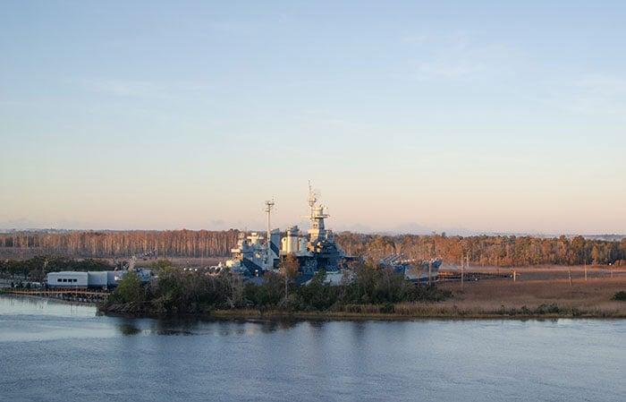 I 40 Exits in NC Wilmington Battleship