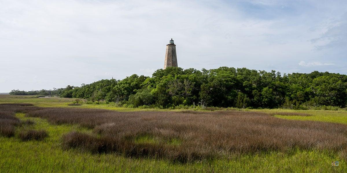 Old Baldy Lighthouse Bald Head Island NC