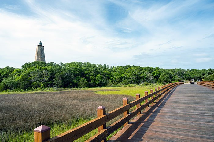 Old Baldy Lighthouse Bald Head Island North Carolina