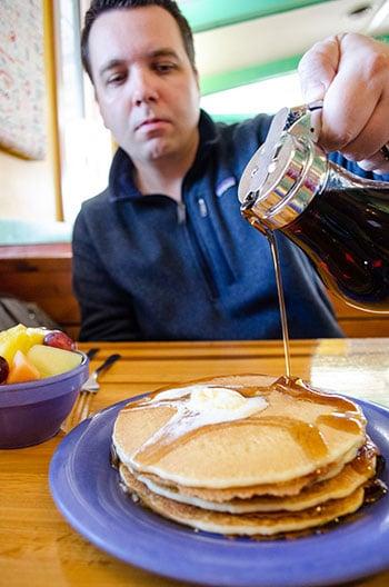 Outer Banks Restaurants Stack em High Pancakes
