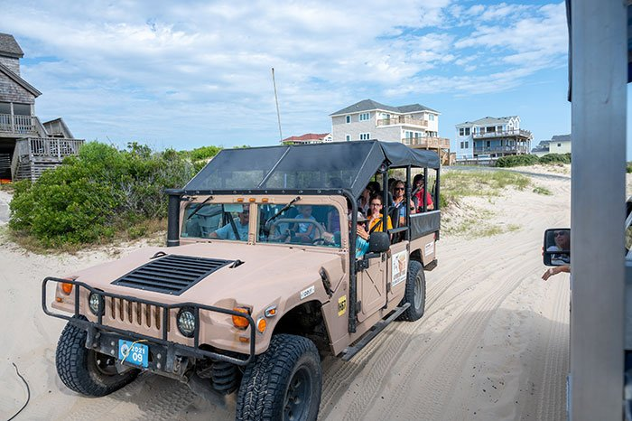Outer Banks Wild Horses tours