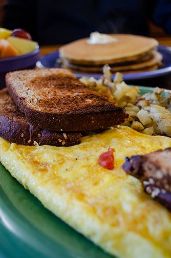 Restaurants in the Outer Banks Stack em High Pancakes