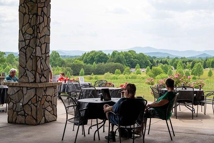 Things to Do in Elkin Mount Airy Round Peak Vineyards