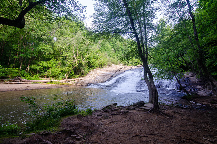 Waterfalls near Boone Carter Falls Elkin NC