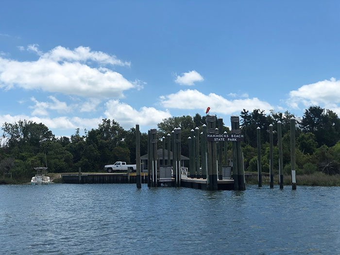 Bear Island Ferry Dock