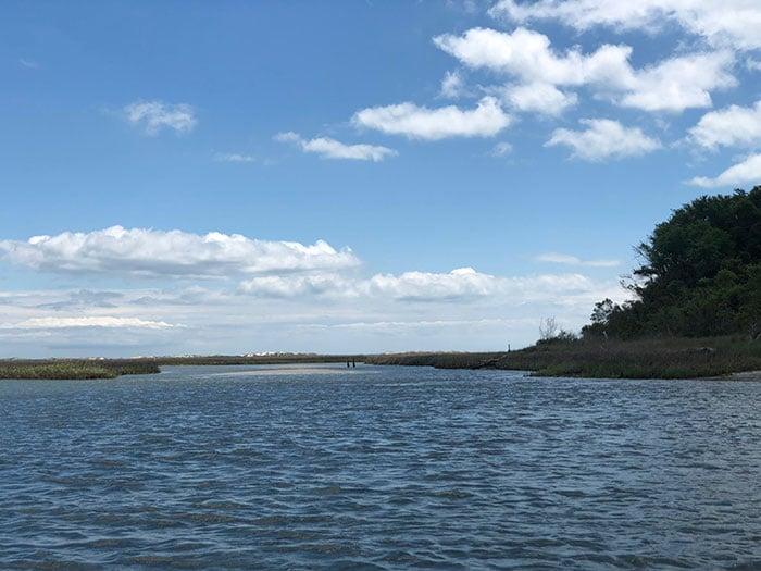 Bear Island NC Channels
