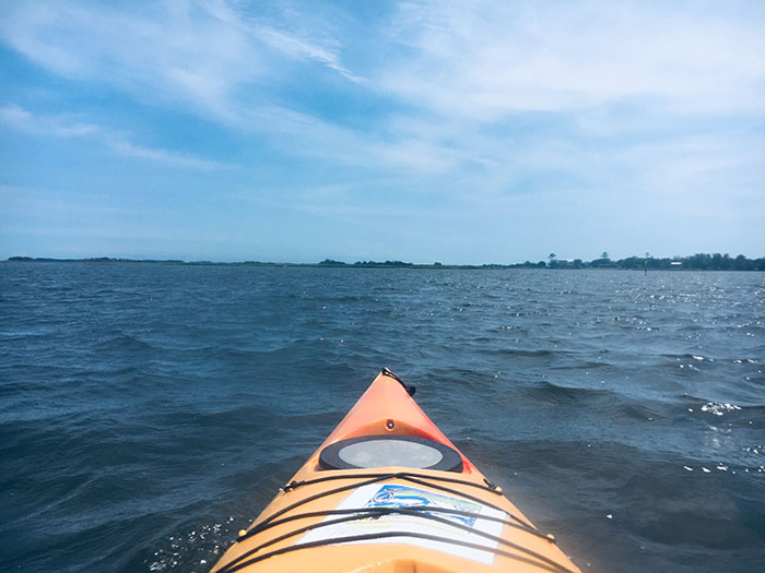 Boating at Hammocks Beach State Park NC