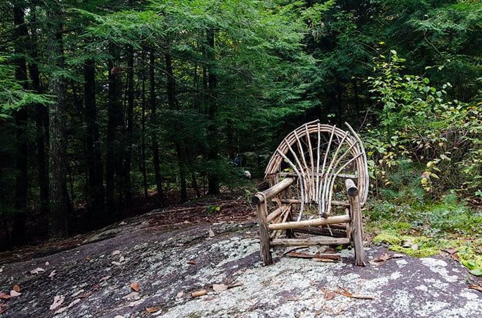 Carl Sandburg Home chair